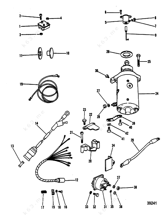 1997 mercury 90 hp wiring diagram